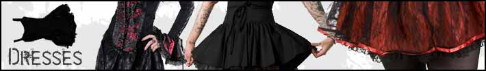 Gothic long dresses