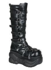 BOXER-200 Black Boots - Clearance