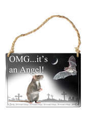 OMG It's an Angel! Sign
