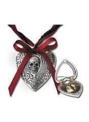 The Reliquary Heart Locket Pendant