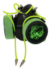 Green UV Gaz Kitten Respirator