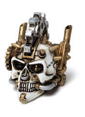 Steamhead Skull Miniature