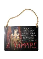 I wanted to be a vampire