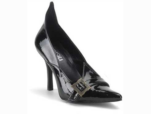 Witch 02 Black Patent Stilettos