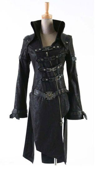 Fallen Visual Kei Coat
