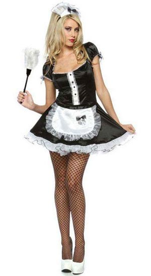 Maid for Love Costume