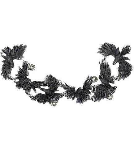 Flocking Ravens Bracelet