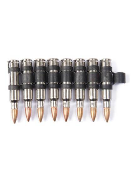 223 Silver Black Copper Bullet Belt Extension