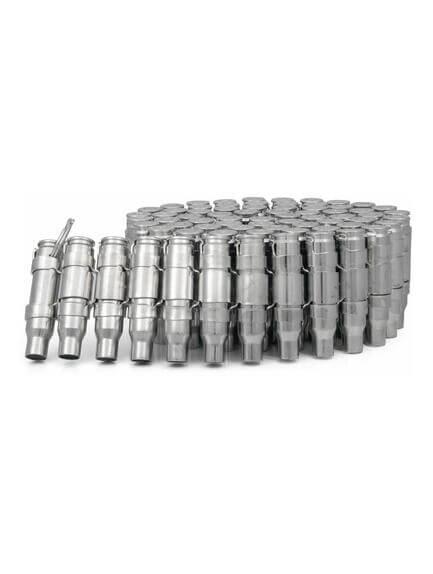 .308 Bullet Belt No Tips, all silver