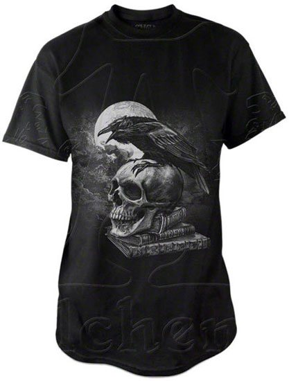Poe's Raven T-Shirt