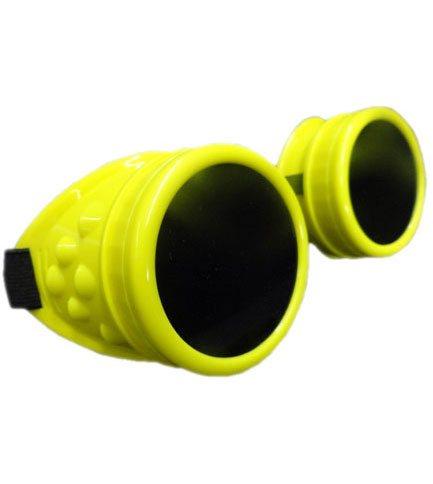 Plain Fluorescent Yellow Goggles