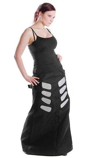 Cyberskirt Grey