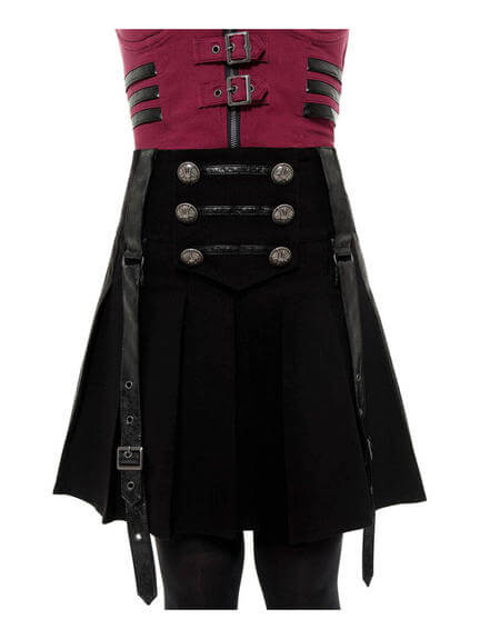 Dark Academy Mini Skirt