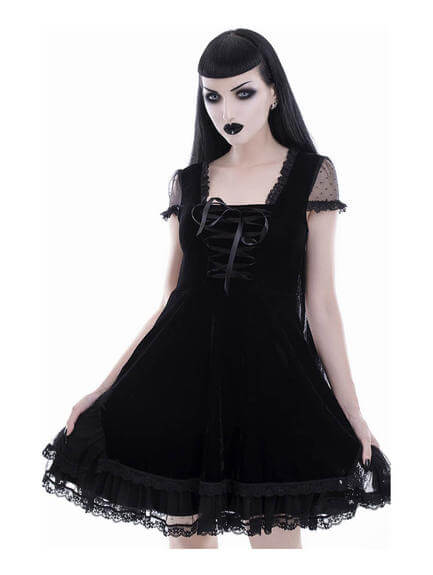Delora Gothic Dress