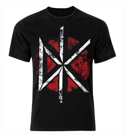 Dead Kennedys - Distressed DK Logo Black