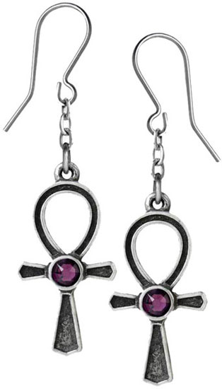 Ankh Of Osiris Earrings