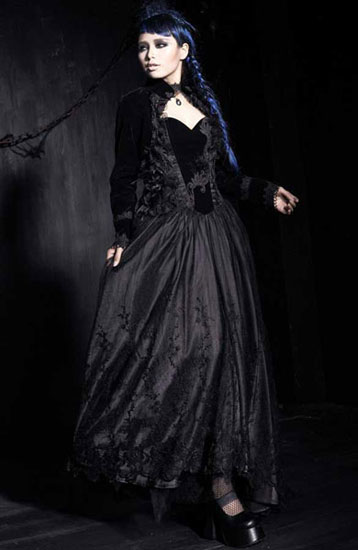 Gothic Palace Capelet-Shape Top