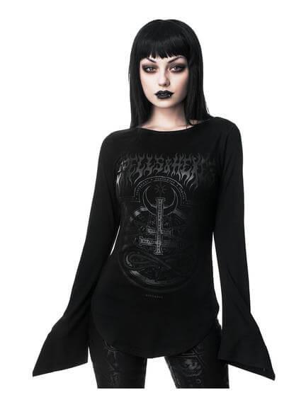 Leya Long Sleeve Top