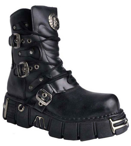 New Rock M1010 Leather Boots