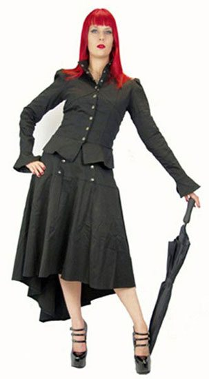 Dorina Steampunk Jacket - Clearance