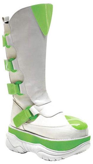 NEPTUNE-309UV White Cyber Boots