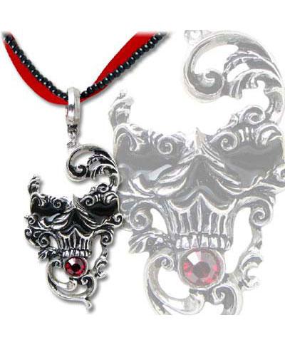 Venetian Mask of Death Pendant