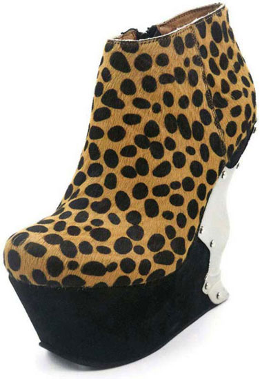 PANTERA Leopard Wedge Platforms