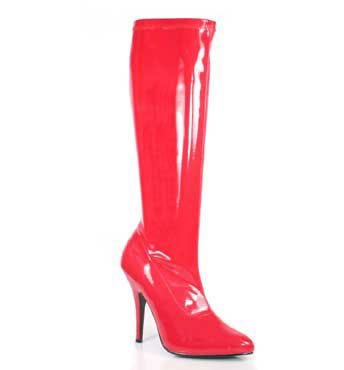 SEDUCE-2000 Red Stretch Boots