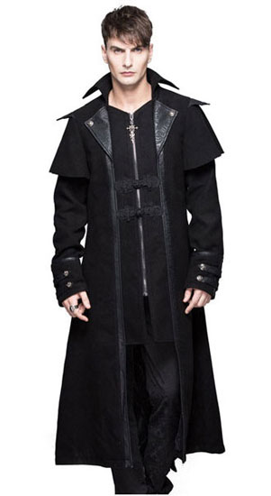 Shepherd Men's Gothic Trench Coat