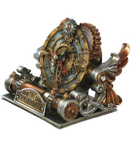 Time Chronambulator Desk Clock