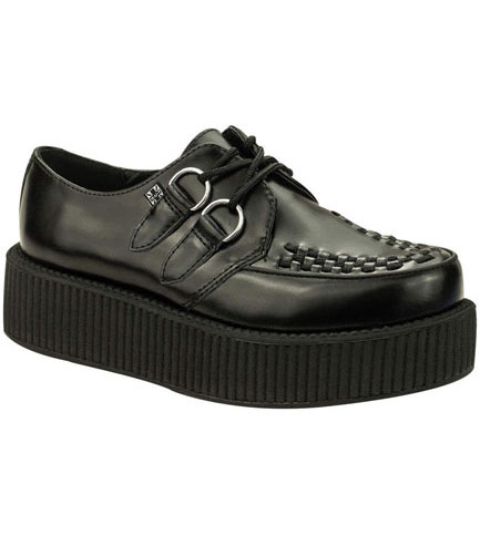 T.U.K. V6802 - Black Creepers Shoes