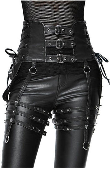 Valerious Caged Harness Belt