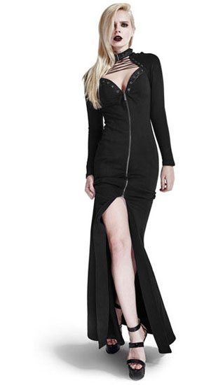 Aeryn Gothic Long Dress