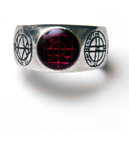 Agla Talismans Pewter Ring