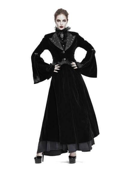 Ambrosia Velvet Coat