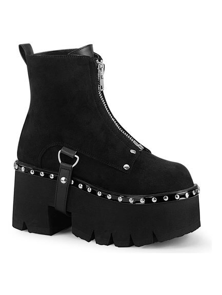 ASHES-100 Chunky Heel Platform Boots