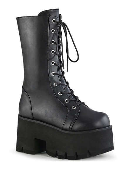 ASHES-105 lace-up platform boots