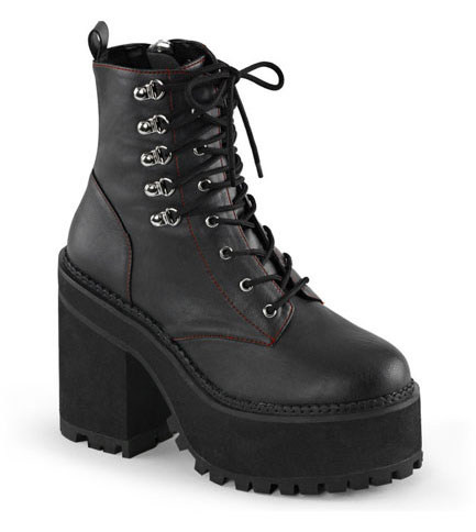 ASSAULT-100 Veggie Leather Boots