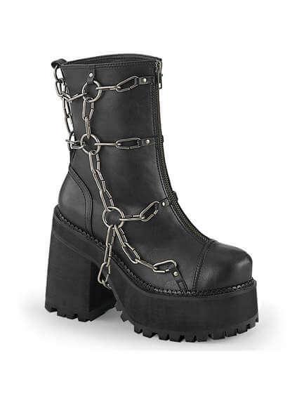 ASSAULT-66 Chained Platform Boots