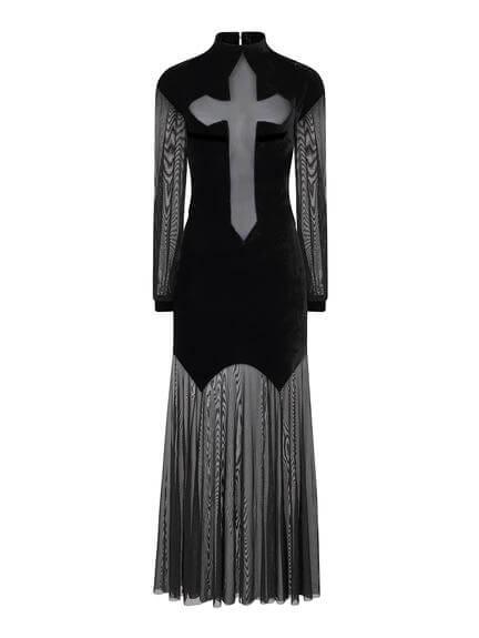 Athena Cross Maxi Dress