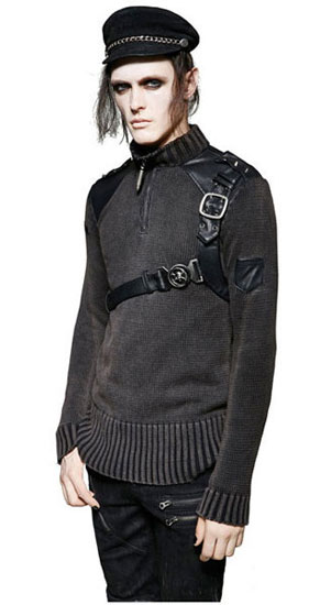 Commander Gothic Sweater