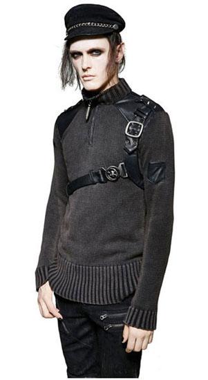 Commander Gothic Sweater