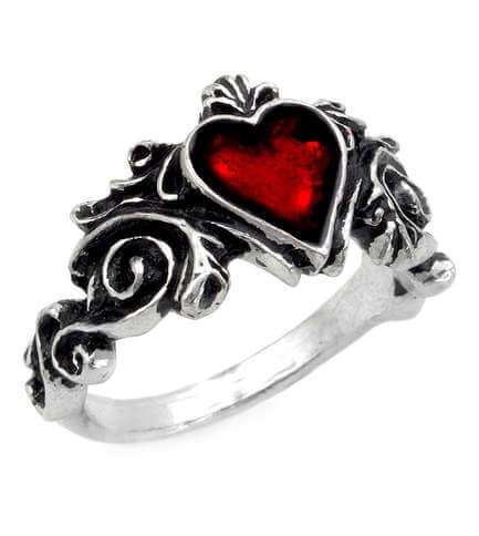 Betrothal Heart Ring