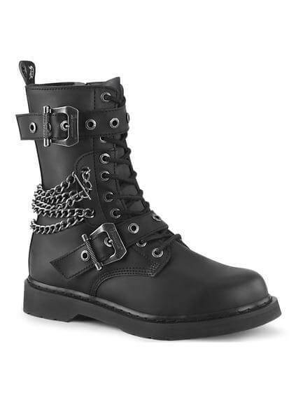BOLT-250 Chained Combat Boots