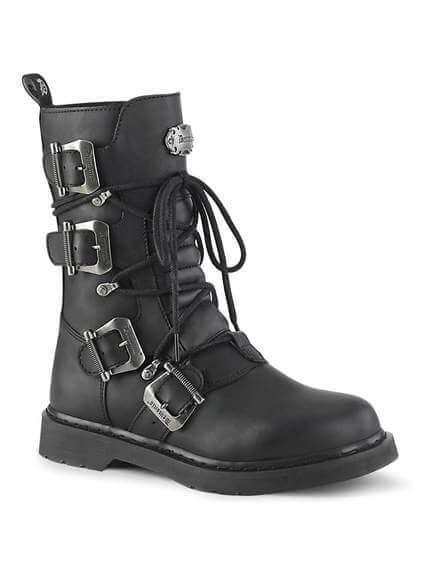BOLT-265 4 Buckle Combat Boots