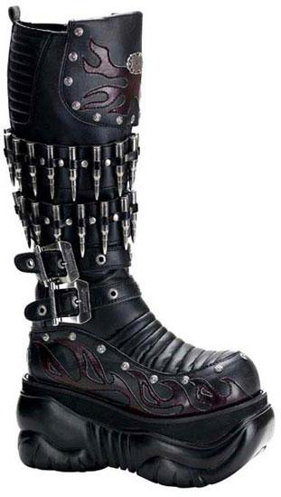 BOXER-201 Platform Boots