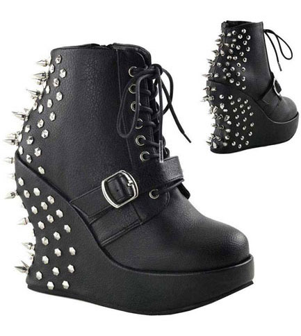 BRAVO-23 Black Spike Wedge