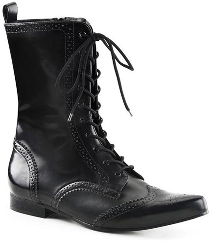 BROGUE-10 Lace Up Boots