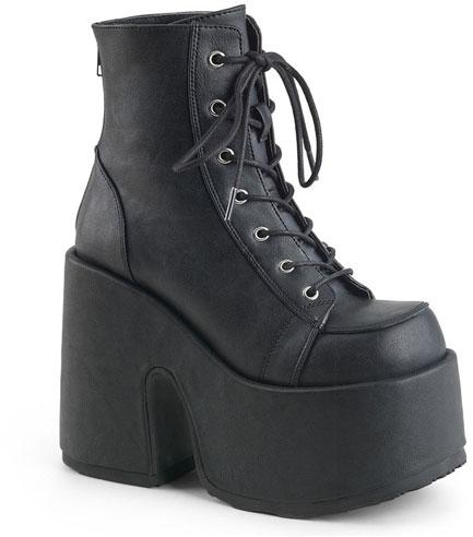CAMEL-203 Black Vegan Leather
