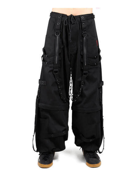 Tripp Chain and Zipper Pants